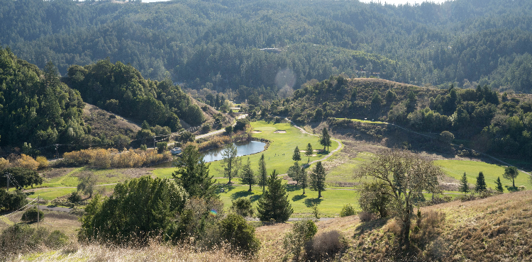 San Geronimo covers 150 acres of beautiful Bay Area terrain